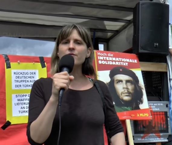 Gabriele Gärtner im Juli 2016