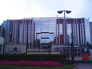 Die Zentrale von Interpol in Lyon